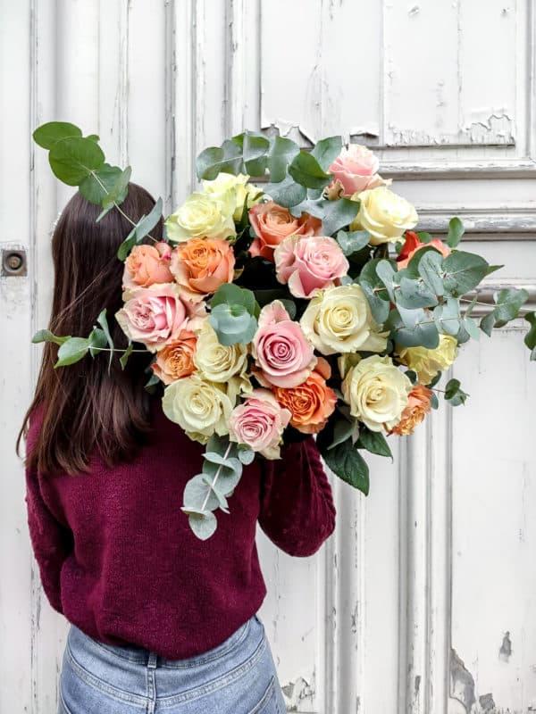 Bouquet de roses équateur